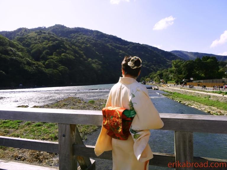 A Kimono in Kyoto