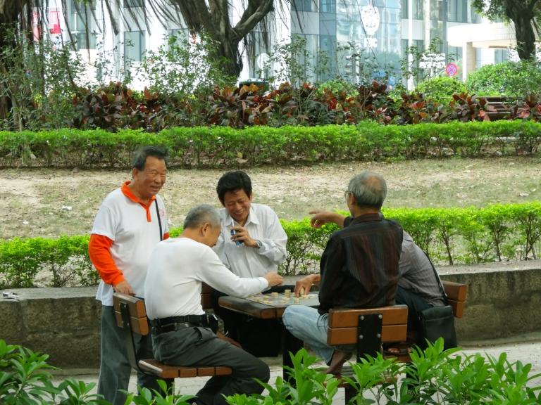 Chess, Cheers, and Chinese in Macau
