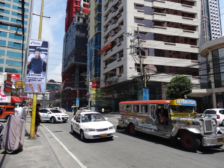 Light Morning Traffic in Manila